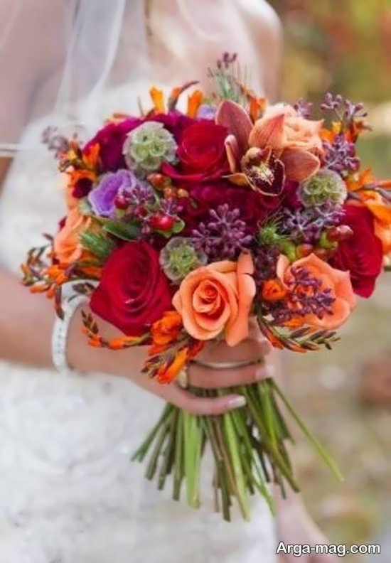 مدل گل عروس اروپایی و لاکچری