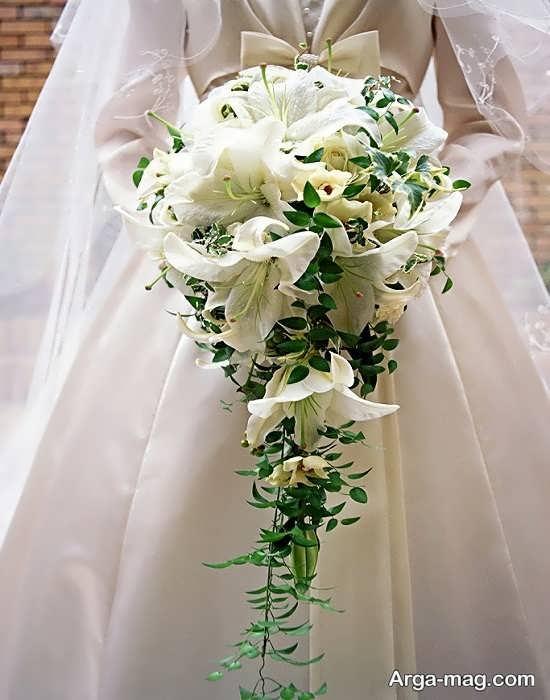 مدل گل عروس اروپایی و شیک