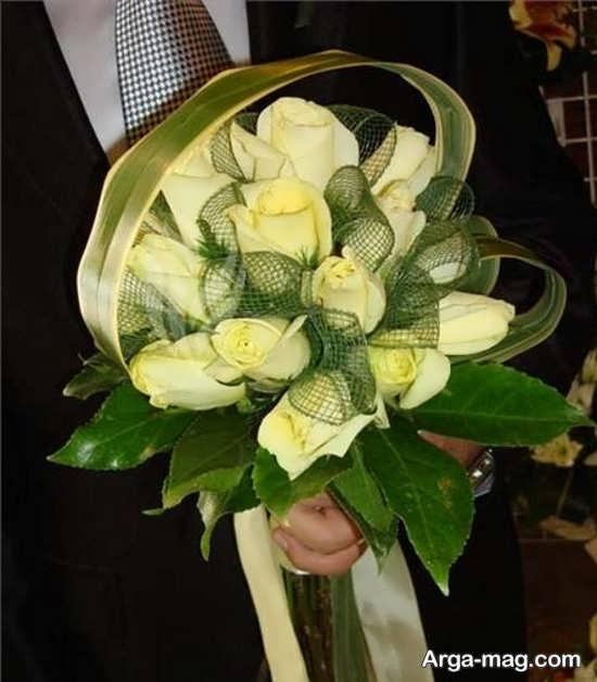 مدلی از دسته گل عروس اروپایی