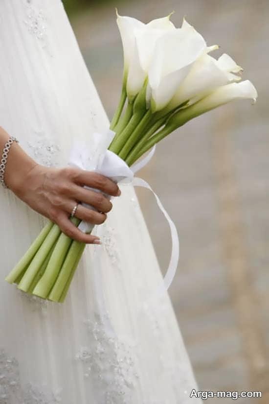 مدل گل عروس اروپایی و زیبا