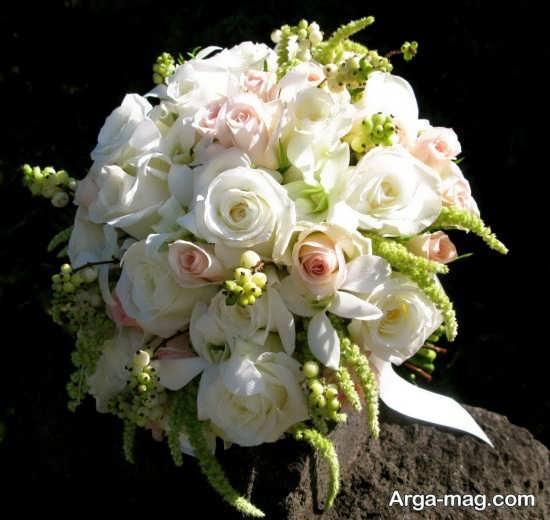 مدل شکیل گل عروس اروپایی