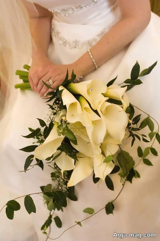 مدل جذاب گل عروس اروپایی