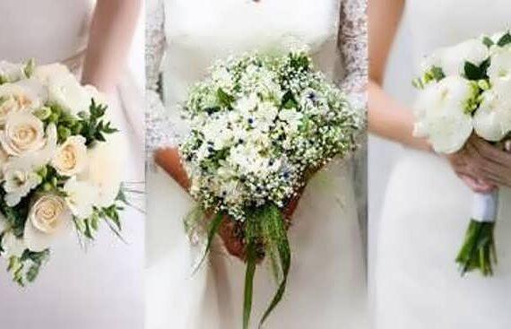 مدلهایی از دسته گل عروس اروپایی