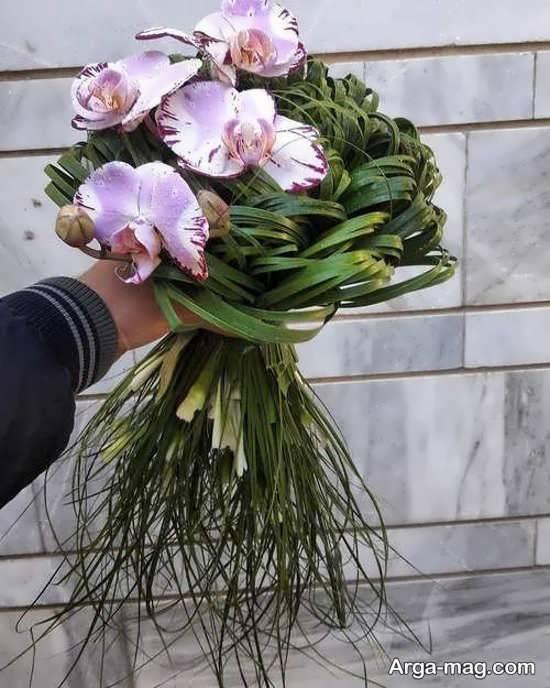 دسته گل عروس اُروپایی جدید