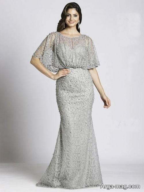 مدل لباس شب رنگ روشن