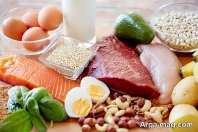 خوردن پروتئین برای عضله سازی سریع