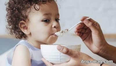 باید های نباید های غذایی مربوط به کودکان دو ساله