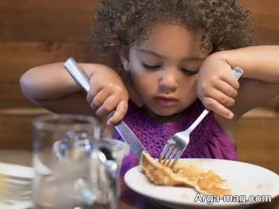تغذیه کودک بعد از دو سالگی