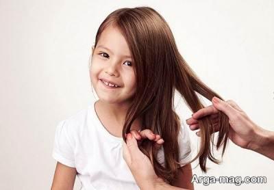 تقسیم کردن موها به 5 قسمت مساوی