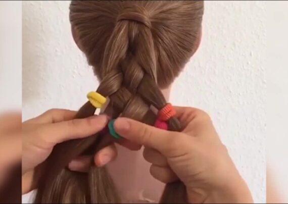 آموزش بافت موی پنج تایی