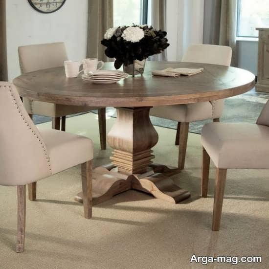 تصاویری زیبا از میز ناهارخوری 4 نفره