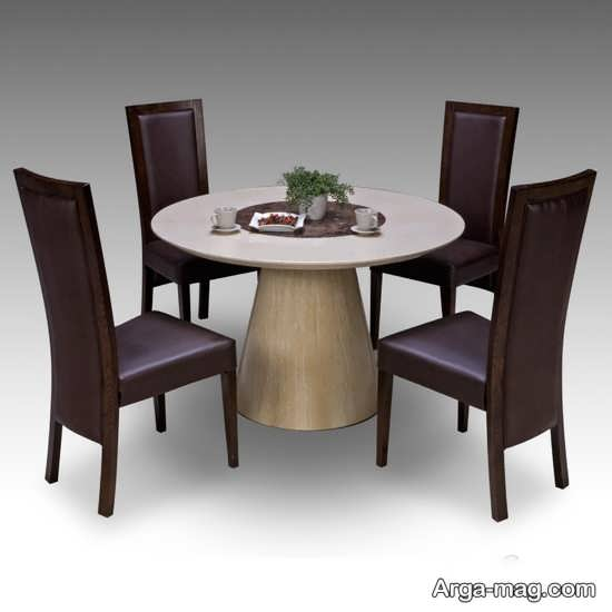 انواع میز ناهارخوری 4 نفره با طراحی خاص