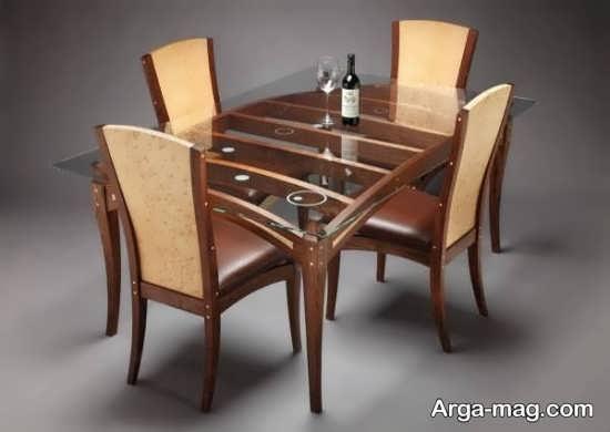 میز ناهارخوری چهار نفره جدید