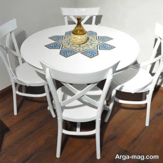 میز ناهارخوری 4 نفره با طرح خاص و جدید
