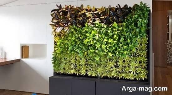 باغچه عمودی در دکوراسیون داخلی