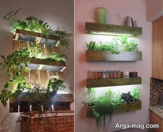 مدلی از باغچه دیواری