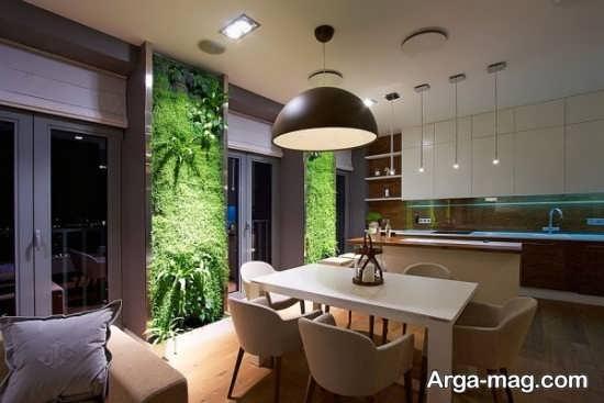 باغچه عمدی در دکوراسیون داخلی لاکچری