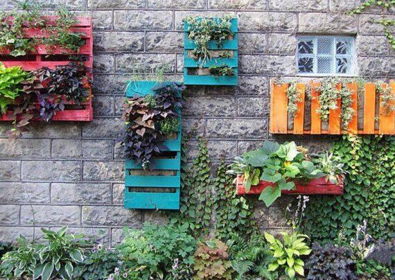 مدلهایی از باغچه دیواری