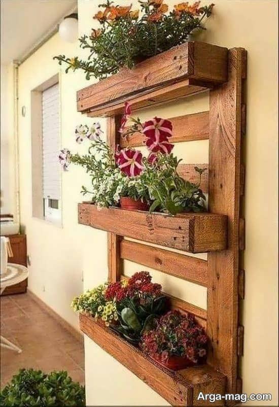 ایده زیبای دیوار سبز در منزل