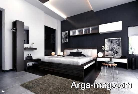 ایده دیزاین خانه با تم تاریک