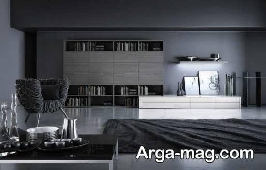 جدیدترین طراحی خانه با تم تاریک