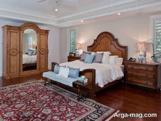 اتاق خواب ایرانی با طراحی سنتی