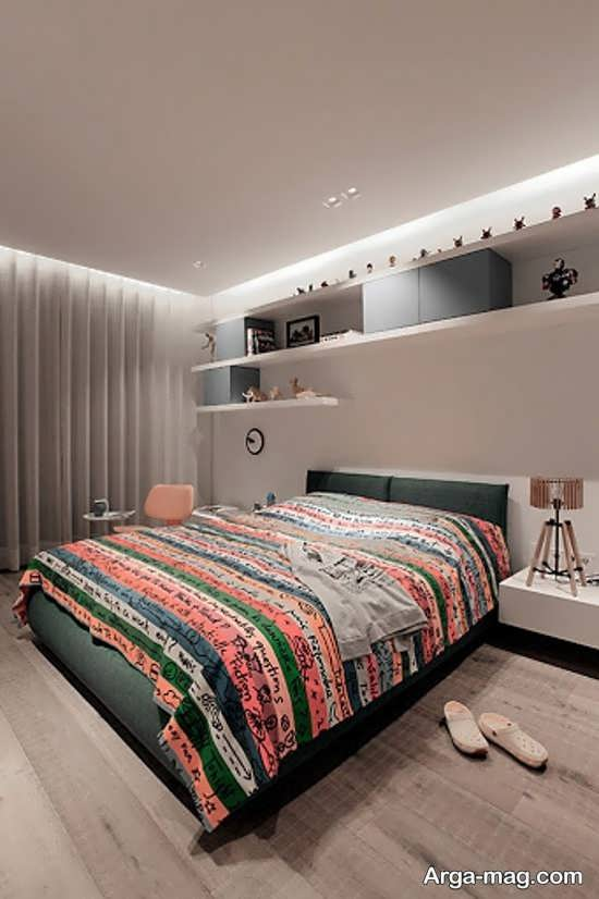 مدلی از دکوراسیون اتاق خواب