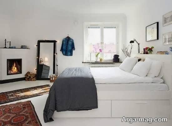دیزاین اتاق خواب با طراحی ساده