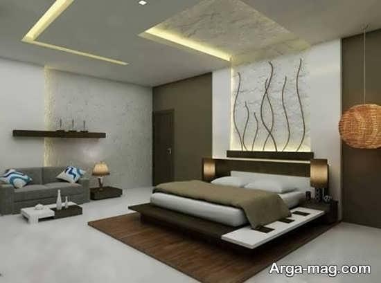 دیزاین اتاق خواب با طراحی مدرن
