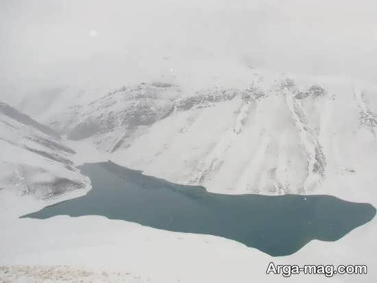 آشنایی با دریاچه تار و هویر در اطراف تهران