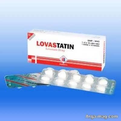 میزان و نحوه مصرف قرص لواستاتین