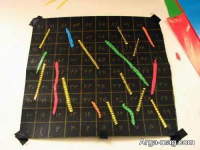 ساخت بازی مار و پله برای بچه ها