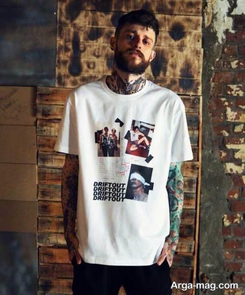 تی شرت لانگ شیک