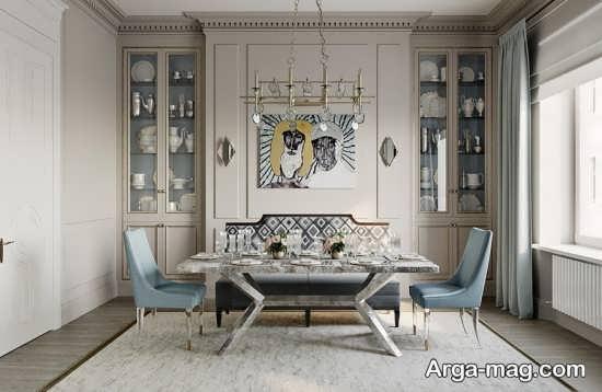 سبک نئوکلاسیک در طراحی داخلی
