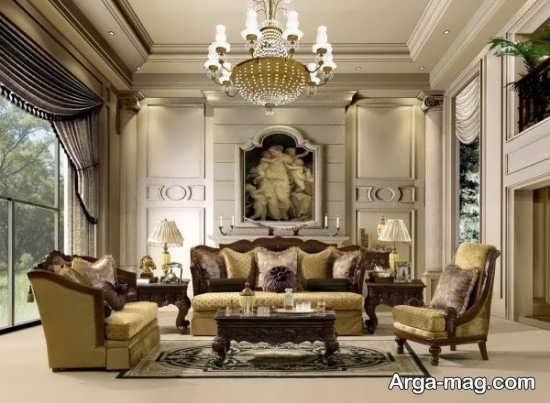 طراحی داخلی با سبک نئوکلاسیک