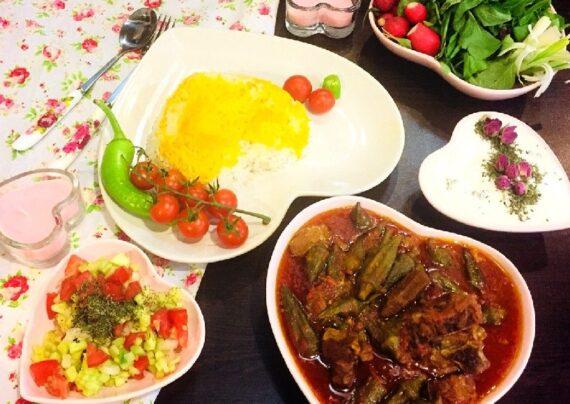 پیشنهاد آشپزی با منوی عربی