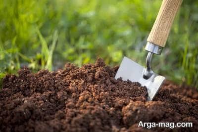 تامین خاک مرغوب برای بستر کشت