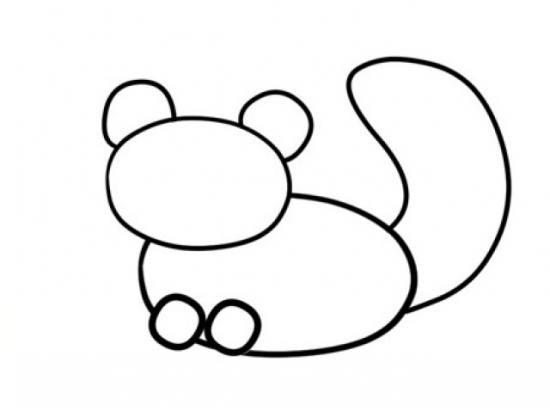 نقاشی ساده پاندا