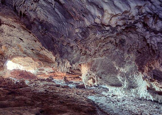 آشنایی با غار نمکدان