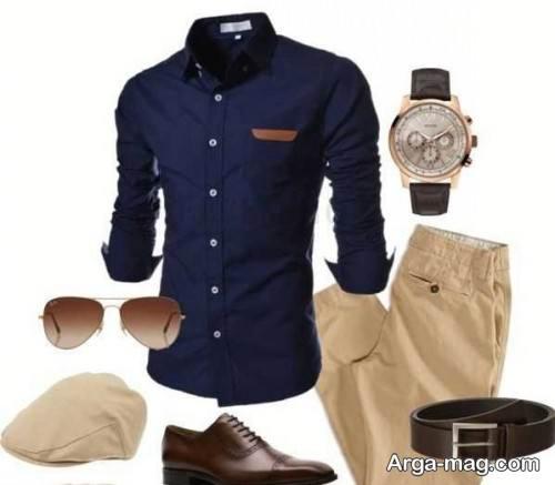 ست لباس برای آقایان با رنگ پوست روشن