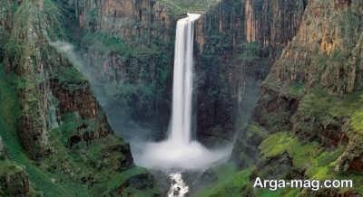 معرفی آبشار های زیبا لسوتو