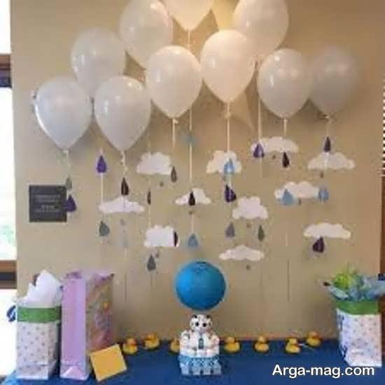 تزیینات جشن تولد ساده
