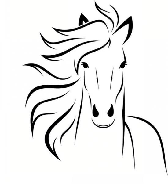 نقاشی اسب فانتزی
