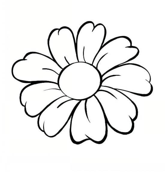 نقاشی گل برای بچه ها