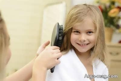 نحوه صحیح شانه کردن موی سر