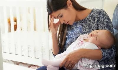 رابطه بین استرس و شیر مادر