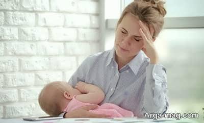 اثرات استرس بر دوران شیردهی