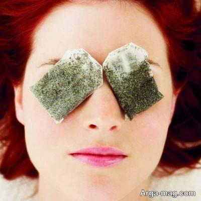 درمان مشکلات چشم با جای کیسه ای های مختلف