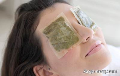 درمان خشکی چشم با چای کیسه ای