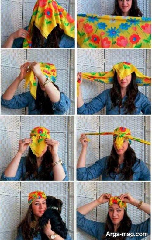 روش های خاص برای بستن توربان با روسری